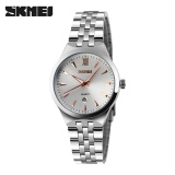 Miliki Segera Skmei Perempuan Quartz Jam Tangan Fashion Casual Watches Full Steel Waterproof Jam Tangan Rose Emas