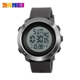 Skmei1268 Men Sports Time Double Digital Waterproof Led Display Watch Gray Large Intl Skmei Murah Di Dki Jakarta