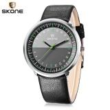 Skone 9425G Male Quartz Watch Ultra Tipis Dial Leather Band Pria Jam Tangan Intl Promo Beli 1 Gratis 1