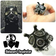 Skull Ring Cincin Tengkorak Respirator Keren Murah Unik Grosir - 7Qfhbu