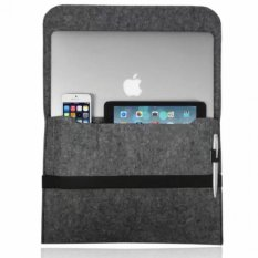 Jual Sleeve Case Cover Bag For Apple Macbook Laptop 13Inch Dark Grey Intl Branded Original