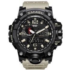 Toko Smael Merek Watch 1545 Pria Olahraga Watches Dual Layar Analog Kuarsa Elektronik Led Digital Jam Tangan 50 M Tahan Air Menonton Renang Intl Lengkap