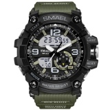 Smael Merek Watch 1617 Led Digital Kuarsa Watch Pria Tahan Air Sprot Watch Pria Jepang Gerakan Kasual Militer Watches Relogio Masculino Intl Smael Murah Di Tiongkok
