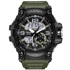 Beli Smael Merek Watch 1617 Led Digital Kuarsa Watch Pria Tahan Air Sprot Watch Pria Jepang Gerakan Kasual Militer Watches Relogio Masculino Intl Secara Angsuran