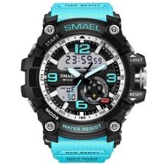 Spesifikasi Smael Merek Watch 1617 Mens Watches Top Mewah Sigital Watch Pria Olahraga Militer Jam Tangan Gaya Baru Tahan Air Kuarsa Reloj Hombre Intl