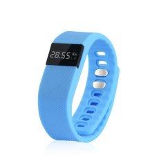 Diskon Smart Bracelet Watch Jam Tangan Pria Dan Wanita Sport Strap Karet Biru Tw64 Blue Dki Jakarta