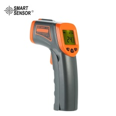 Beli Smart Sensor 32 380�C 12 1 Portable Handheld Digital Non Contact Ir Infrared Thermometer Temperature Tester Pyrometer Lcd Display With Backlight Centigrade Fahrenheit Seken