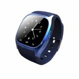 Harga Smart Watch Jam Tangan Pria Dan Wanita Strap Karet Biru M26 Blue Yang Murah