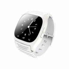 Toko Smart Watch Jam Tangan Pria Dan Wanita Strap Karet Putih M26 White Smart Watches Di Indonesia