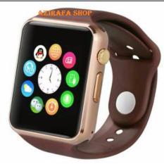 Harga Jam Tangan Anak Jam Handphone Smart Watch Coklat Ring Gold New