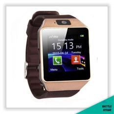 Smartwatch U9 / DZ09 / Smart Watch DZ09 Support Sim Card & Memory Card / Jam Tangan Android - Brown