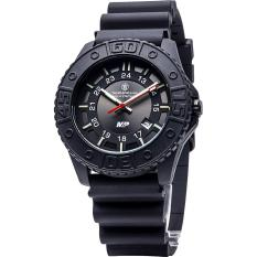 Smith & Wesson SWW-MP18-BLK Military Police Jam Tangan Swiss tritium - Black