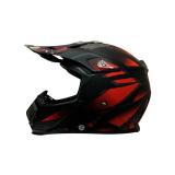 Review Terbaik Snail Helm Motocross Mx315 Motif Merah Hitam Dope