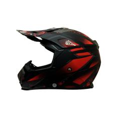 Harga Snail Helm Motocross Mx315 Motif Merah Hitam Dope Snail Baru