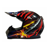 Spesifikasi Snail Helm Motocross Mx315 Motif Spark Plug Online