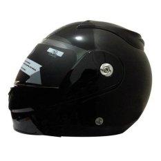 Spesifikasi Snail Helm Modular Single Visor Ff991 Hitam Clear Lengkap