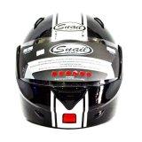 Jual Beli Snail Helm Modular Single Visor Ff991 Hitam Putih