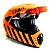 Jual Snail Helmet Motocross Single Visor Mx 310 Limited Edition Motif Orange Di Jawa Barat