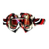 Toko Snail Kacamata Cross Goggles Mx19 Motif Garis Merah Putih Hitam Snail Di Indonesia