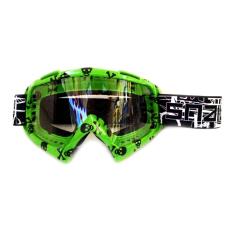 Toko Snail Kacamata Cross Goggles Mx19 Motif Tengkorak Hijau Snail Di Indonesia