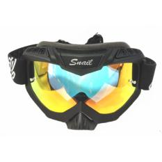 Snail Kacamata Goggle MX37 - Google Snail M37 Pelangi - Rainbow