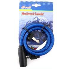 Spesifikasi Snail Kunci Helm Besar Ty513A Biru Murah Berkualitas