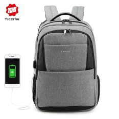 Beli Sng Store Tigernu Unisex Men Women Backpack Anti Theft Usb Charging 15 6 Inch Laptop Bag Mochilas Escolar Feminine Male Bagpack Notebook College Schoolbag T B3515 Intl Oem Asli