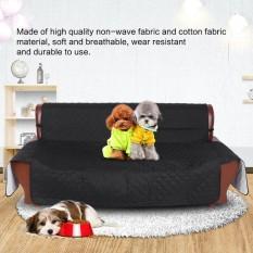 Soft Anti Slip Pet Sofa Waterproof Cover Slipcover Dog Cat Couch Mat Furniture Protector (Black) - intl