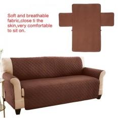 Soft Anti Slip Pet Sofa Waterproof Cover Slipcover Dog Cat Couch Mat Furniture Protector (Brown) - intl