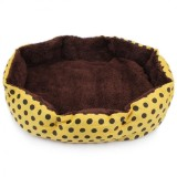 Soft Cotton Pet Cat Beds House Supplies Yellow Intl Murah