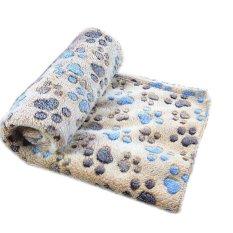 Harga Soft Warm Pet Fleece Blanket Bed Mat Pad Cover Cushion For Dog Cat Puppy Animal Intl Asli