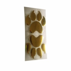 Sohoku Stiker 3D Bear Footprint / Cakar Beruang - Emas