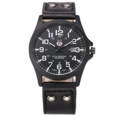 Harga Soki Jam Tangan Pria Analog Sports Men Date Strap Quartz Wrist Watch Terbaik