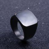 Jual Beli Online Solid Stainless Steel Ring Band Titanium Pria Pernikahan Perhiasan Cincin Us Ukuran 8 Hitam Hitam 8 Intl