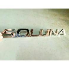 SOLUNA Emblem Logo Mobil Toyota