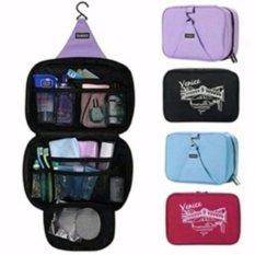 Katalog Sonia Hanging Toiletries Bag Organizer Tas Kosmetik Travel Bags Toilet Mandi Black Sonia Terbaru