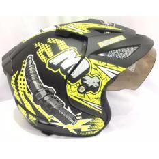 Ulasan Lengkap Tentang Spark Plug Helm Helmet Dewasa Hitam Doff Hijau