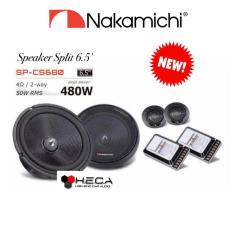 Speaker Split Pintu Mobil 6.5 inch NAKAMICHI SP-CS680 Component Set SPCS680 2-way