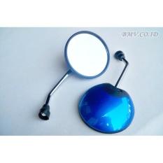 Spion Honda Scoopy Bulat - Scopy Bisa Juga Untuk Spion Honda Matic lainnya Warna Biru