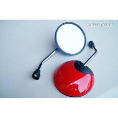 Spion Honda Scoopy Bulat - Scopy Bisa Juga Untuk Spion Honda Matic lainnya Warna Merah
