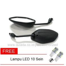 Spion Standar Honda Beat , Blade + Free Lampu Sein LED Mata 10 [Non Pack]