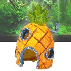Toko Spongebob Squarepants Nanas Rumah Tangki Ikan Akuarium Ornamen Rumah 14 Cm Internasional Online Di Tiongkok