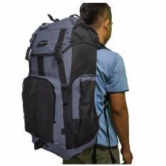 Cuci Gudang Sport Ex Tas Ransel Backpak Dan Travel 65 Liter Abu2 Gelap Dark Grey