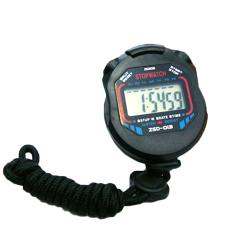 Tips Beli Sporter Lcd Penunjuk Waktu Digital Genggam Chronograph Stopwatch Sports Hitam