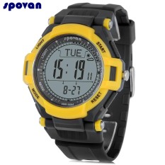 Harga Spovan Mingo 2 Digital Olahraga Watch Altimeter Kompas Pedometer Chronograph 3Atm Jam Tangan Intl Not Specified