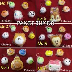 Squishy Jumbo Cute Paket Hemat 5 Item Multi Diskon 50