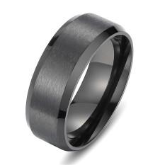 Review Terbaik Stainless Steel Pesona Klasik Hitam Unik Pria Wanita Khusus Perhiasan Cincin Pernikahan