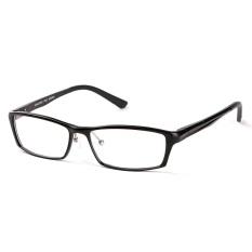 Katalog Stallane Fashion Optical Miopia Bingkai Kacamata Bisnis Aluminium Tontonan Kacamata Full Rim Kacamata For Pria Hitam Oem Terbaru