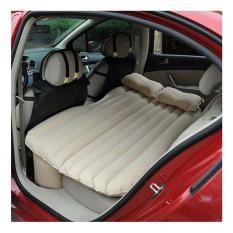 StarHome Kasur Angin Mobil - Matras Mobil Indoor Outdoor - Portable Car Mattress - Cream