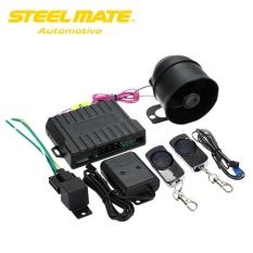 Steelmate 838N 1 Cara Sistem Alarm Mobil Sesuai dengan Sistem Penguncian Sentral & Window Lebih Dekat Anti-pembajakan Rilis Bagasi Terpencil dengan Carbon Fiber Transmitter-Intl